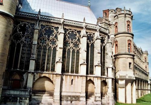Extérieur chapelle Saint-Louis et façade sud-est