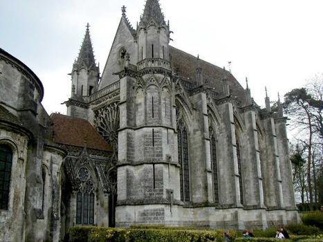Abbatiale Saint-Germain-de-Fly. Sainte Chapelle