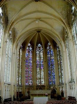 Abbatiale Saint-Germain-de-Fly. Sainte Chapelle - Abside
