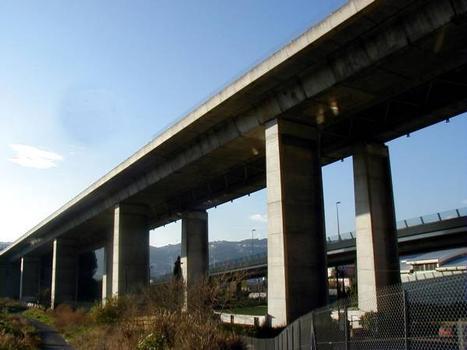 Viaduc de Saint-Isidore (Autoroute A8)