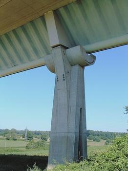 Charolles - Viaduc de Maupré - Pile