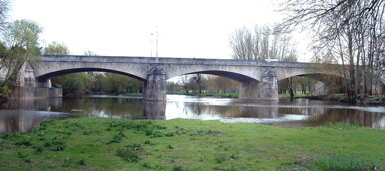 Pont Fouchard, Saumur.