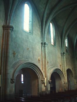 Le-Bourget-du-Lac - Eglise Saint-Laurent - Nef - Elévation