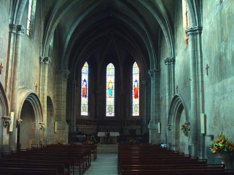 Le-Bourget-du-Lac - Eglise Saint-Laurent - Nef