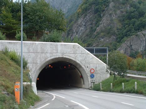 Moûtiers - RN90 - Tunnel de Ponserand - Sortie