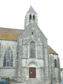 Château-Landon - Église Notre-Dame-de-l'Assomption - Porte latérale et chevet