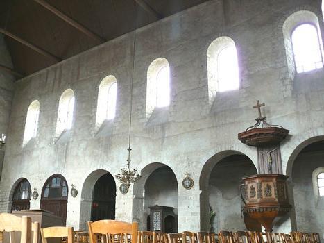 Château-Landon - Église Notre-Dame-de-l'Assomption - Nef - Elévation du mur nord de la nef