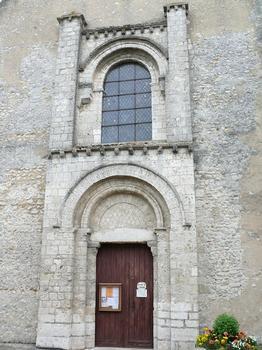 Château-Landon - Église Notre-Dame-de-l'Assomption - Portail principal