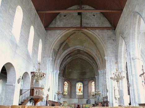 Château-Landon - Église Notre-Dame-de-l'Assomption - Nef