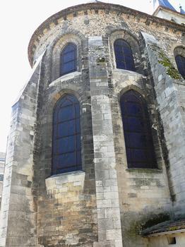 Melun - Collégiale Notre-Dame - Chevet