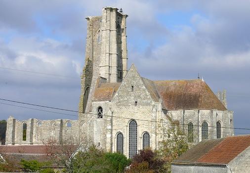 Larchant - Eglise Saint-Mathurin - Ensemble