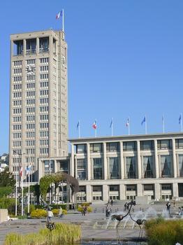 Hôtel de ville (Le Havre) - La tour