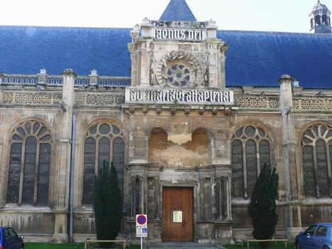 Le Havre - Cathédrale Notre-Dame - Portail latéral Nord