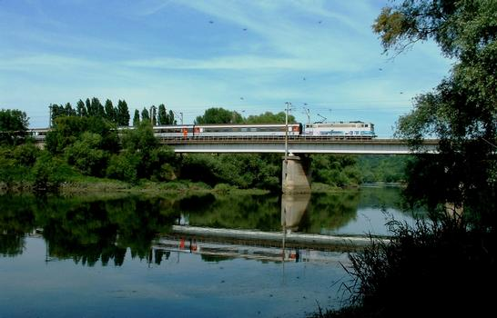 Viaduc de Tourville-la-Rivière - Franchissement de la Seine
