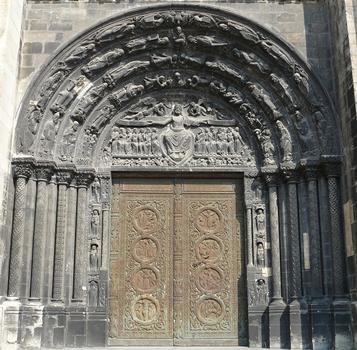 Saint-Denis - Basilique de Saint-Denis - Portail central