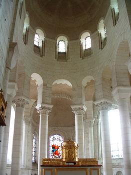 Selles-sur-Cher - Eglise Notre-Dame-la-Blanche - Le choeur reconstitué par Anatole de Baudot