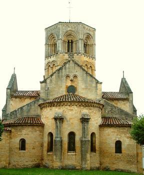 Semur-en-Brionnais - Eglise Saint-Hilaire - Chevet