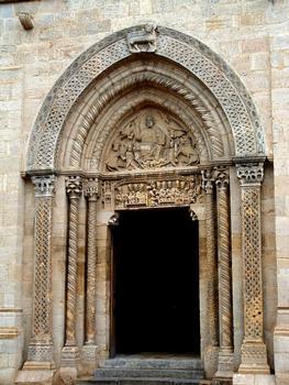 Semur-en-Brionnais - Eglise Saint-Hilaire - Portail occidental