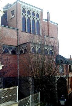 Eglise Saint-Jean-de-Montmartre.Nef occidentale