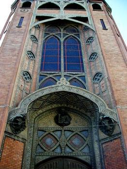 Eglise Saint-Jean-de-Montmartre.Clocher