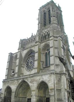Cathédrale de Soissons.Façade occidentale