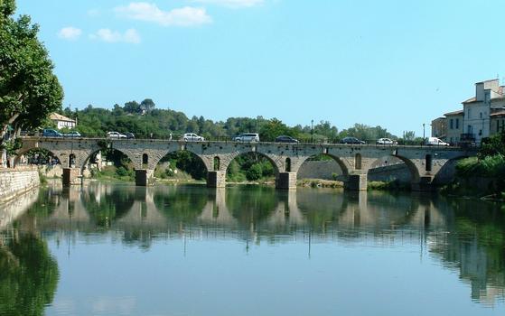Sommières Roman Bridge