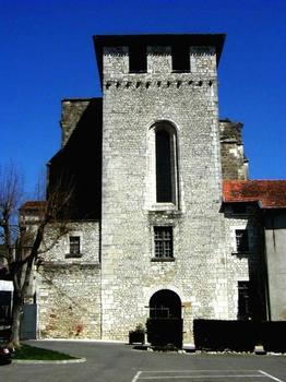 Abbatiale Sainte-Marie de Souillac.Tour ouest