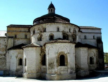 Abbatiale Sainte-Marie de Souillac.Chevet