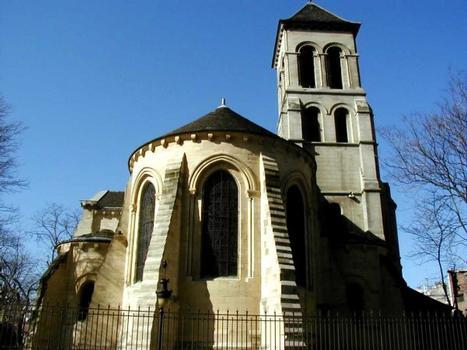 Eglise Saint-Pierre-de-Montmartre.Chevet