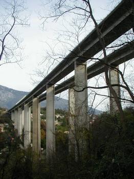 Autoroute A8 Viaduc de Sainte-Agnès
