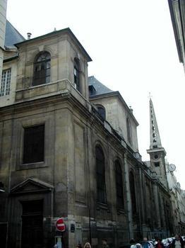 Eglise Saint-Louis-en-l'Île.Extérieur