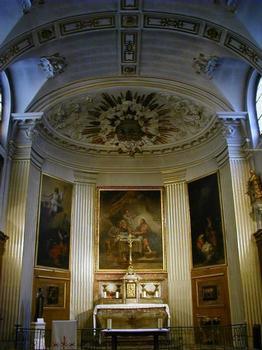 Eglise Saint-Louis-en-l'Île.Chapelle du Saint-Sacrement