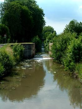 Canal de la Bruche, Straßburg –  Ehemalige Schleuse