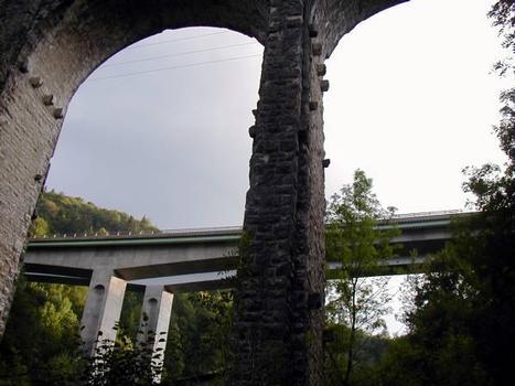 Autoroute A40 – Viaduc du Tacon