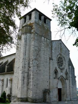 Montpezat-de-Quercy - Collégiale Saint-Martin - Façade