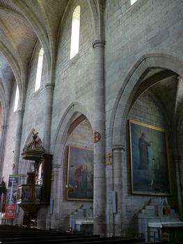 Montpezat-de-Quercy - Collégiale Saint-Martin - Nef - Chapelles