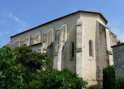 Montpezat-de-Quercy - Collégiale Saint-Martin - Extérieur