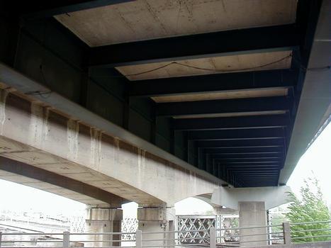 Autoroute A31 – Beide Beauregard-Viadukte in Thionville