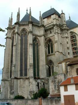 Cathédrale Saint-Etienne, Toul Chevet et tour du chevet