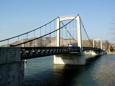 Pont Gustave Toursier, Tournon-sur-Rhône