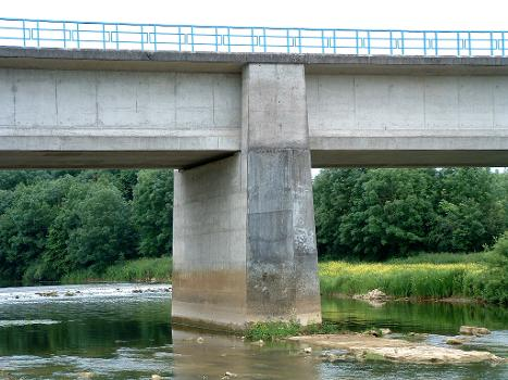 Kanalbrücke Troussey über die Maas
