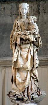 Troyes - Basilique Saint-Urbain - La Vierge au raisin (vers 1520)