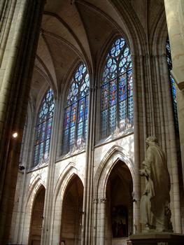 Troyes - Basilique Saint-Urbain - Elévation de la nef