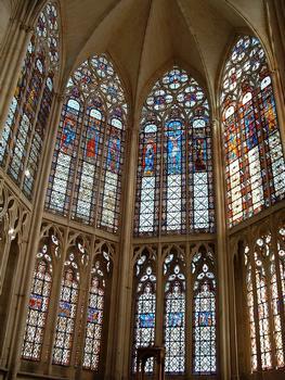 Troyes - Basilique Saint-Urbain - Vitraux du choeur