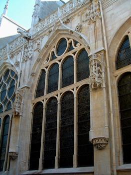 Troyes - Eglise Saint-Jean-du-Marché - Fenêtres du choeur