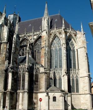 Troyes - Basilique Saint-Urbain - Chevet - Extérieur
