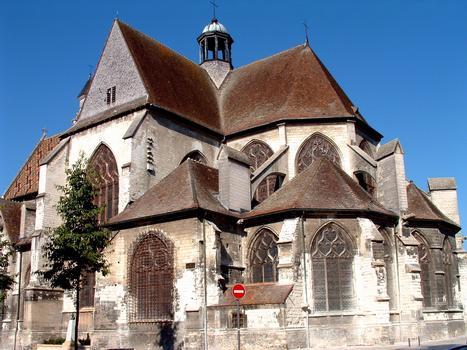 Troyes - Eglise Saint-Nizier - Ensemble vu du chevet