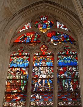 Troyes - Eglise Saint-Nizier - Martyre de saint Sébastien (1520)