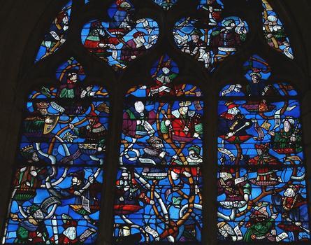 Troyes - Eglise Saint-Nizier - Arbre de Jessé (vers 1510) - Fragments