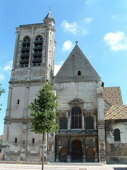 Troyes - Eglise Saint-Nizier - Façade occidentale